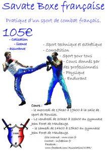 Affiche SBF du CICER
